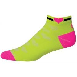SOS Womens Heart Cycling Socks