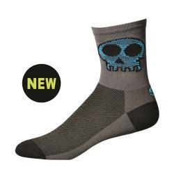 "SOS Punishers 5"" Mountain Bike Socks - Granite"