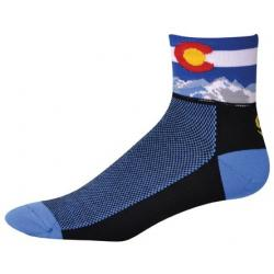 """SOS Colorado Cycling Socks - 2.5"""""""