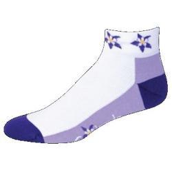 SOS Colorado Columbine Purple Majesty Cycling Socks