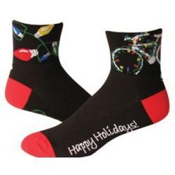 SOS Happy Holidays Cycling Socks