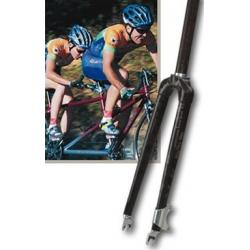 "Wound Up Carbon Steerer DUO 2 Tandem Fork 1-1/8"" 700C"