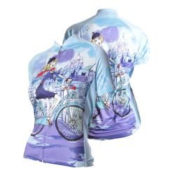 83 Sportswear Riding in Paris Woman's Cycling Jersey