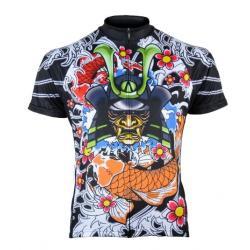 Primal Japanese Warrior Men's Cycling Jersey -  Sport Cut