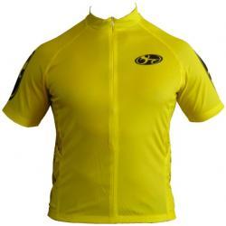 Bend It Speed Yellow Recumbent Jersey