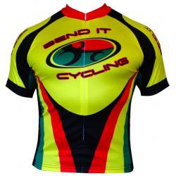 Bend It Rasta Recumbent Cycling Jersey
