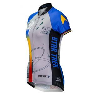 Star Trek Final Frontier Women's Cycling Jersey - Blue - XL