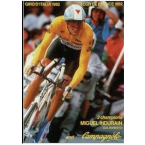 Campagnolo Miguel Indurain Poster 1992 Tour De France