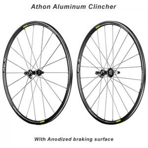 """Ursus Athon 28"""" Clincher Aluminum Road Wheelset"""