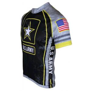 83 Sportswear US Army Cycling Jersey - Gray