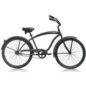 Micargi General Men's Army Transport Cruiser Bicycle