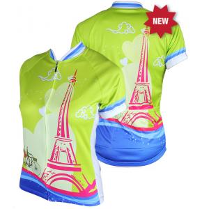83 Sportswear La Tour Eiffel Woman's Cycling Jersey