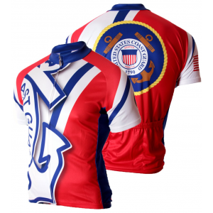 83 Sportswear US Coast Guard Cycling Jersey