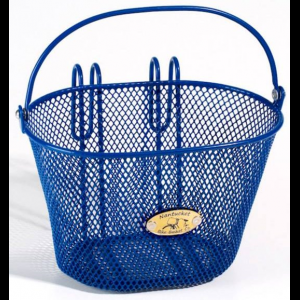 Nantucket Surfside Bike Basket - For Child's Bike - Blue Mesh