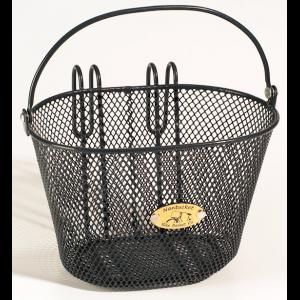 Nantucket Surfside Bike Basket - For Child's Bike - Black Mesh