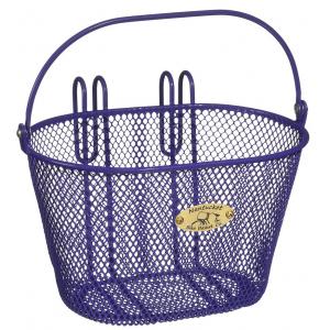Nantucket Surfside Bike Basket - For Child's Bike - Purple Mesh