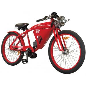 Phantom Bikes R 7 Speed Retro Electric Bike - Handbuilt - 500W