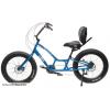 Day 6 Behemoth Semi Recumbent Fat Tire Bike - 24 Speeds