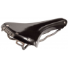 Brooks B15 Swallow Bicycle Saddle - Black - TI Rails