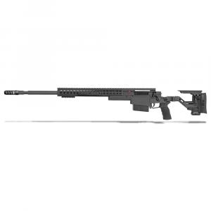 Accuracy International AXSR Folding Left Hand Rifle .300 Win Mag Black 3/4