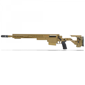 Accuracy International AXSR Folding Left Hand Rifle .300 Win Mag Dark Earth 20