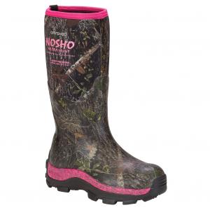 Dryshod Women's NoSho Ultra Hunt Hi Size 6 Camo/Pnk Outdoor Sport Boots MBMWHPNW06