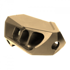 Cadex MX1 Mini Muzzle Brake Max 6.5 Cal. Tan (5/8-24 Thrd) 3850-436-TAN