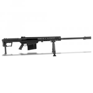 Barrett M107A1 .50 BMG Semi-Auto Black Rifle w/ Hydraulic Buffer System and Black 29