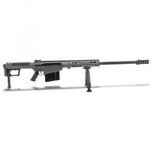 Barrett M107A1 .50 BMG Semi-Auto Grey Rifle w/ Hydraulic Buffer System and Black 29