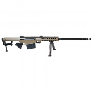 Barrett Model 82A1 .416 Barrett Compliant Rifle System FDE Cerakote Receiver Non-Detach Mag., 29