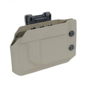 Desert Tech SRS Kydex Mag Carrier Tek Lok .308/.338 FDE ACC0118
