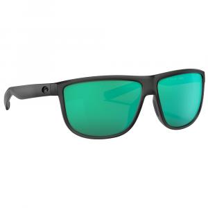 Costa Rincondo Matte Smoke Crystal Sunglasses w/Green Mirror 580G Lenses 06S9010-90100461