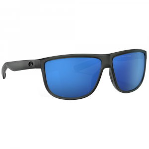 Costa Rincondo Matte Smoke Crystal Sunglasses w/Blue Mirror 580P Lenses 06S9010-90100561