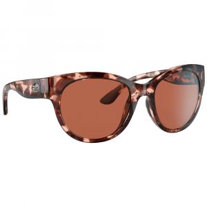 Costa Maya Shiny Coral Tortoise Sunglasses w/Copper 580P Lenses 06S9011-90110355