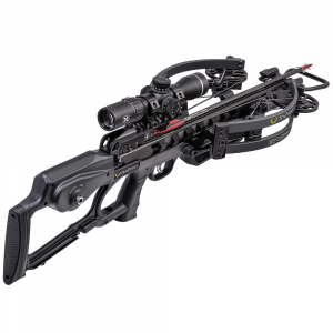 TenPoint Vapor RS470 Crossbow w/ACUslide, EVO-X Elite Scope, Elite Pkg, & Hard Case, Graph Gry CB20004-1399