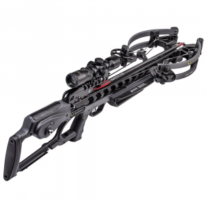 TenPoint Vengent S440 Crossbow w/ACUslide, RangeMaster Pro Scope, & Soft Case, Graph Gry CB20007-1219