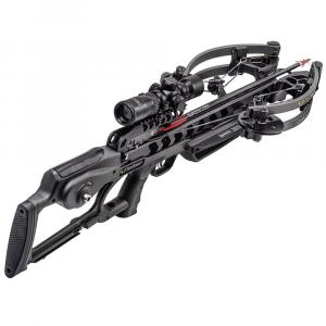 TenPoint Viper S400 Crossbow w/ACUslide, RangeMaster Pro Scope, Graph Gry CB20015-1819
