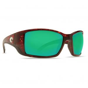 Costa Blackfin Tortoise Frame Sunglasses w/Green Mirror 580G Lenses 06S9014-90141862