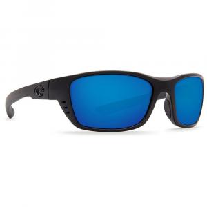 Costa Whitetip Blackout Frame Sunglasses w/Blue Mirror 580P C-Mate 1.50 Lenses 06S7009-00010258
