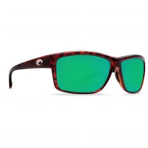 Costa Mag Bay Tortoise Frame Sunglasses w/Green Mirror 580P Lenses 06S9048-90480363