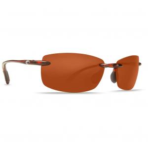 Costa Ballast Tortoise Frame Sunglasses w/Copper 580P C-Mate 2.00 Lenses 06S7002-00010460