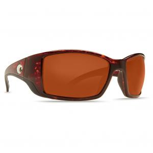 Costa Blackfin Tortoise Frame Sunglasses w/Copper 580G Lenses 06S9014-90141762