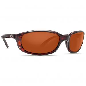 Costa Brine Tortoise Frame Sunglasses w/Copper 580G Lenses 06S9017-90171159