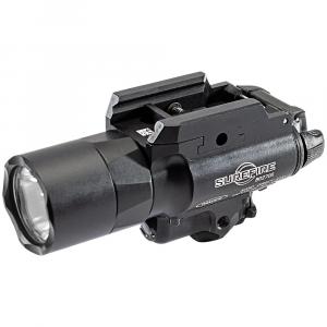 SureFire X400U-A Ultra 1000 LU Black Handgun WeaponLight w/ Red Laser X400U-A-RD