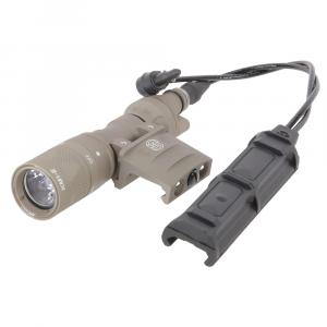 SureFire M313V Vampire Multi-Spectrum 250 LU/100mW IR Black Scout Light w/ RM45 Mount & DS-SR07-D-IT Switch M313V-TN