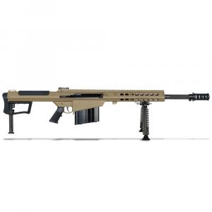 Barrett M107A1 .50 BMG Semi-Auto FDE Rifle w/ Hydraulic Buffer System and Black 20