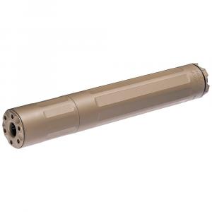 SureFire SF Ryder 9M-Ti 9mm Dark Earth Modular Suppressor 1/2x28 Threaded SF-RYDER-9M-Ti-1/2-28-DE