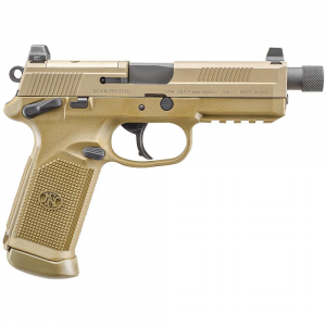 FN FNX-45 Tactical .45 ACP DA/SA FDE Pistol 66-100223