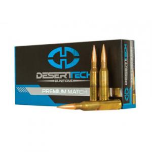 Desert Tech 338 Lapua Mag 300gr PTS Match 20rd DTM-338LM-PTS
