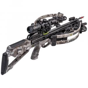 TenPoint USED Siege RS410 Crossbow w/ACUslide, RangeMaster Pro Scope, Veil Alp CB21012-6819 Missing 1 Arrow, 3 Tips, Manual; Scratched Scope; Scope M